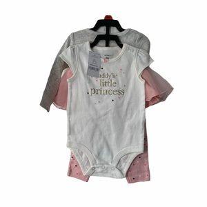 🍉4/$25 Carters 3-Pc. Daddy's Little Princess Set